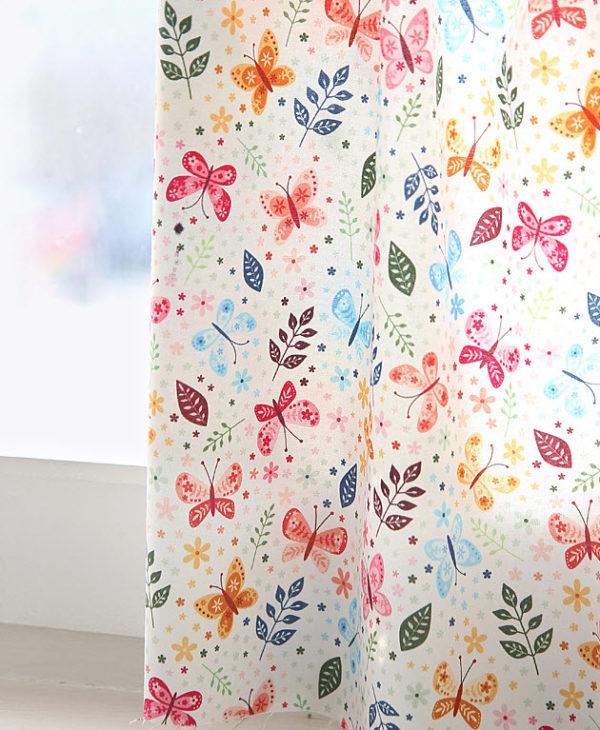 "Хлопок ""Бабочки"", ширина 110 см (Корея)"