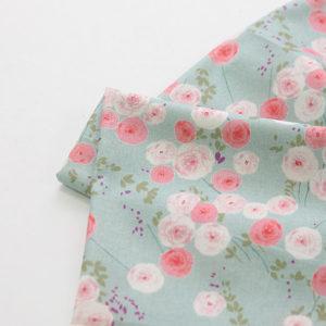 """Хлопок """"Мелкие розы"""", ширина 110 см (Корея)"""