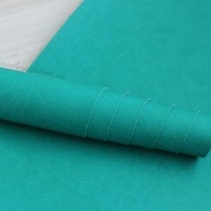 Переплетный кожзам, матовый, цвет: Бирюзовый (Италия)