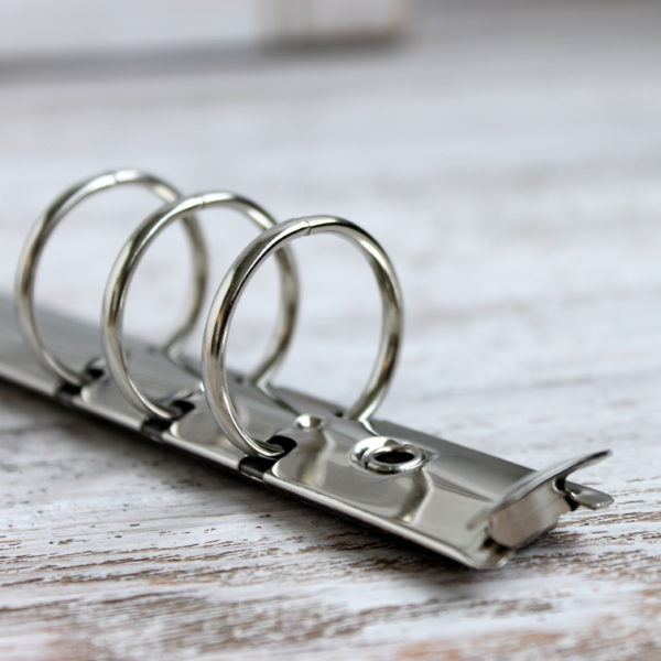 Кольцевой механизм, 17.5 см, кольца 25 мм, Серебро