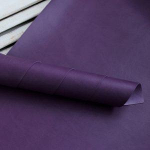 Переплетный кожзам, матовый, цвет: Темно-фиолетовый (Италия)