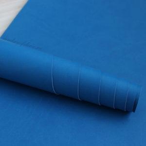 Переплетный кожзам, матовый, цвет: Ярко-синий (Италия)