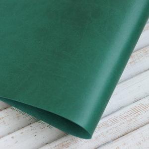 Переплетный кожзам, матовый, цвет: Зеленый (Италия)