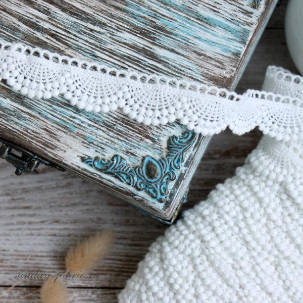 Кисточка замшевая, цвет: Синий, 4 см (Китай)