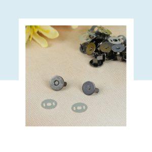 Кнопка магнитная с рисунком, диаметр 10 мм, цвет: Никель