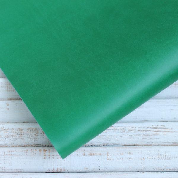 Переплетный кожзам, матовый, цвет: Травяной (Италия)