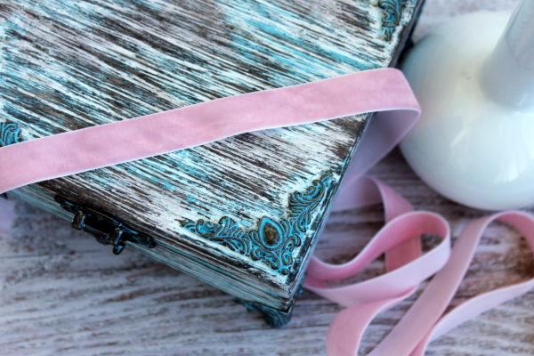 Лента репсовая, ширина 15 мм, цвет Розовый