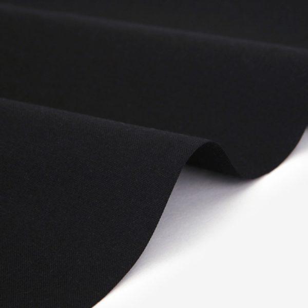 "Хлопок Dailylike ""Черный"", ширина 110 см (Корея)"