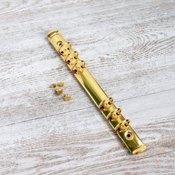 кольцевой механизм золото