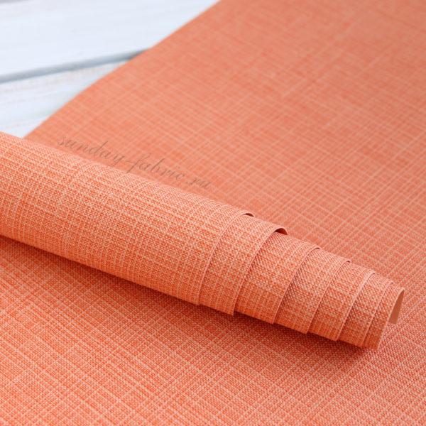 переплетный кожзам оранжевый