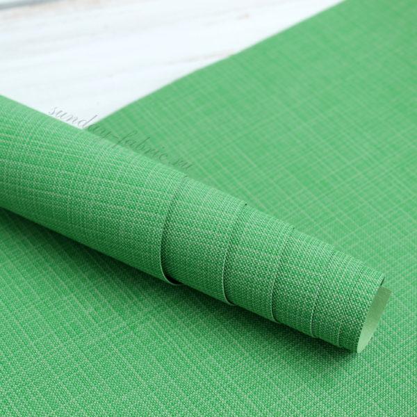 переплетный кожзам зеленый