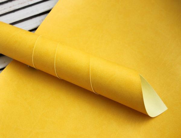 переплетный кожзам солнечно-желтый