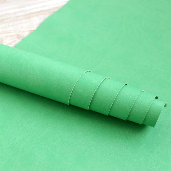 переплтный кожзам светло-зеленый