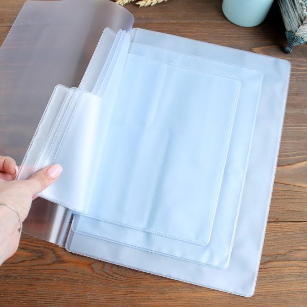 Вкладыш для документов А4 (30,5*21,5 см), 4 комплекта документов