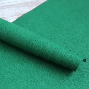переплетный кожзам яркий зеленый