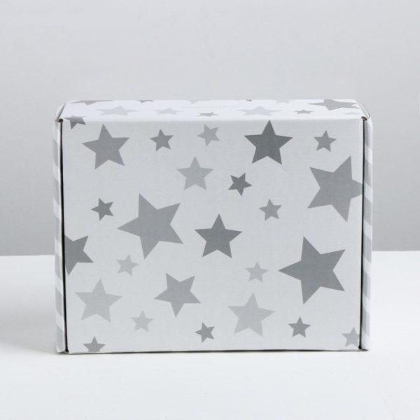 """Коробка складная """"Звезды"""", 27 × 9 × 21 см"""