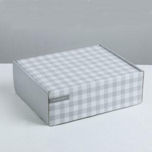 коробка картонная сборная