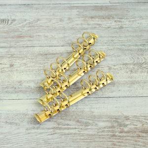 кольцевой механизм золото 17,5 см