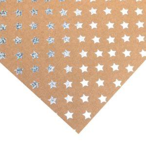 """Бумага для скрапбукинга с фольгированием """"Звездное небо"""", 30,5х30,5 см (АртУзор)"""