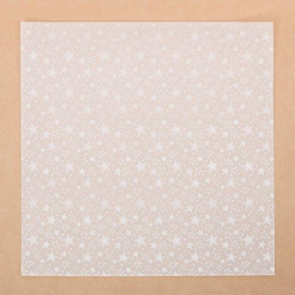 """Лист декоративной кальки """"Звездопад"""", 30,5х30,5 см (АртУзор)"""