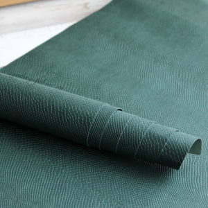 переплетный кожзам питон темно-зеленый