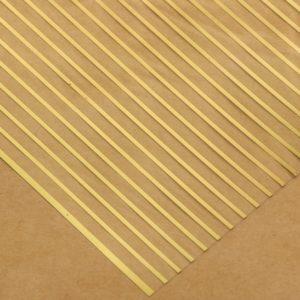 """Ацетатный лист с фольгированием """"Полосы"""", 30,5х30,5 см (АртУзор)"""