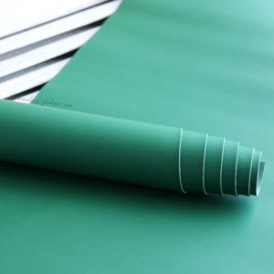 переплетный кожзам матовый зеленый