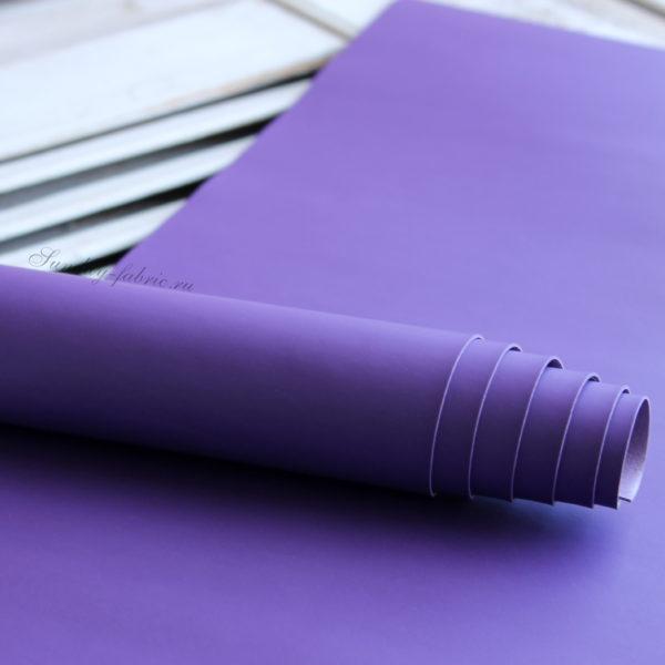 переплетный кожзам матовый фиолетовый