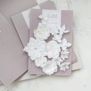 "Набор тканевых цветов ""Базовый микс"", 16 шт., цвет Белый (Pastel Flowers)"