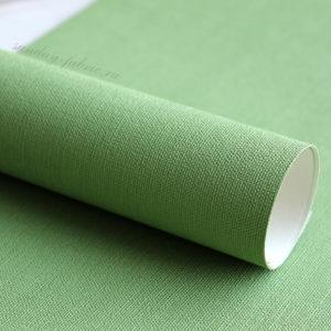 Переплетный материал на бумажной основе, цвет: Светло-зеленый
