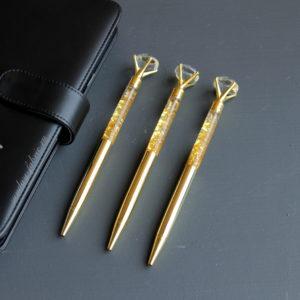 ручка золото